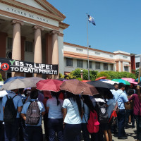 ADNU Holds Noise Barrage Against Death Penalty