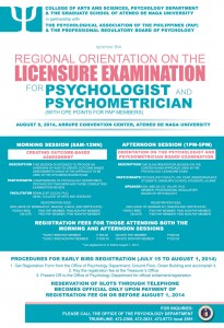 PSY LICENSURE EXAM