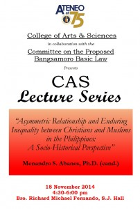 CAS-3 lecture series