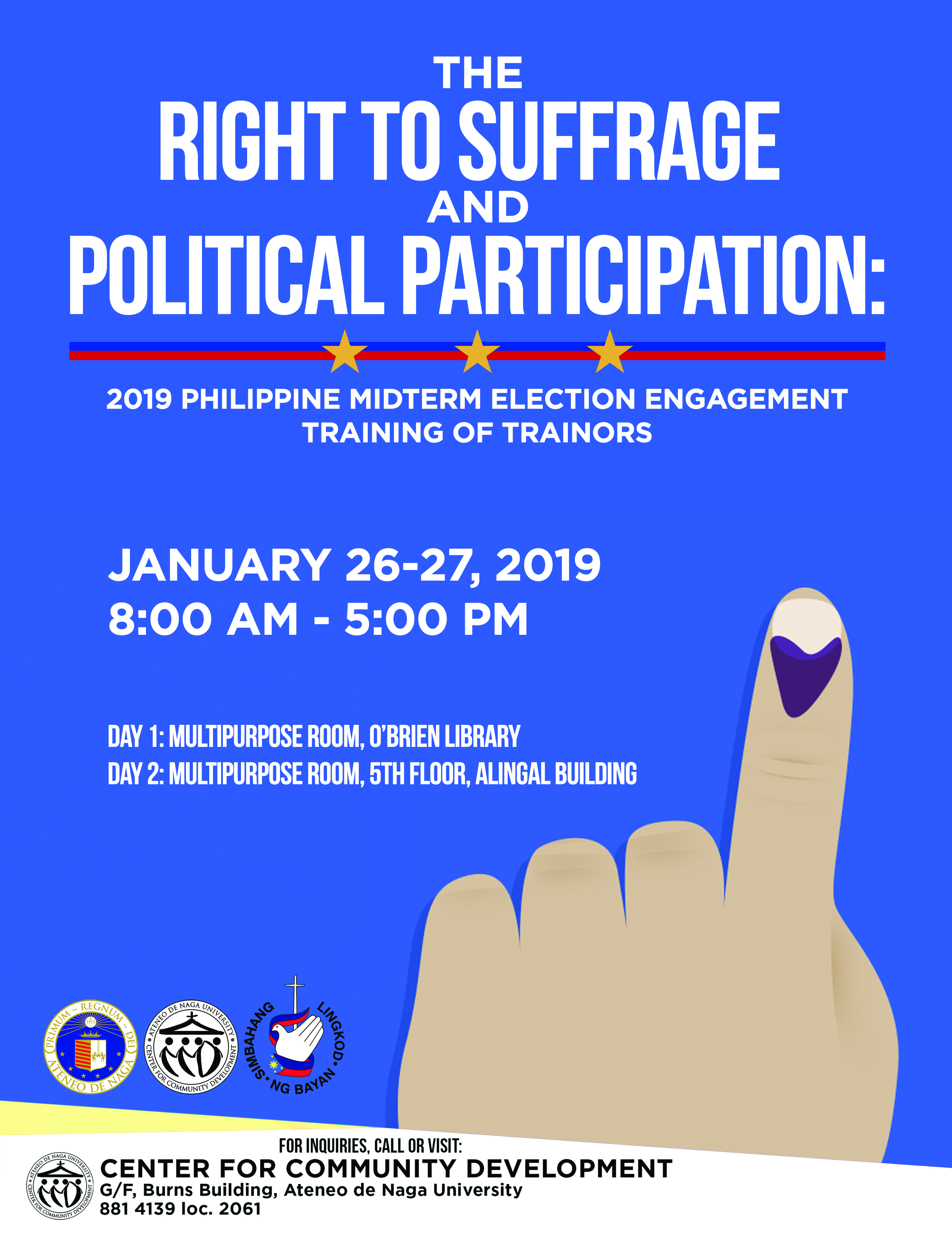 2019 Philippine Midterm Election Engagement Training of