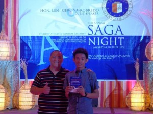 Coach Jec and Awardee - JI Beraquit