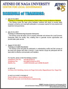 poster for 2015 trainings-updated 7july2015