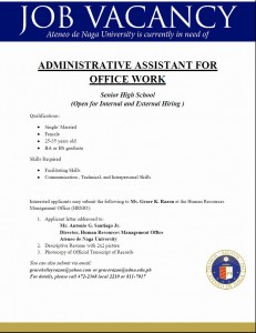 admin assistant for office work