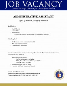 aa office of the dean ,college of education
